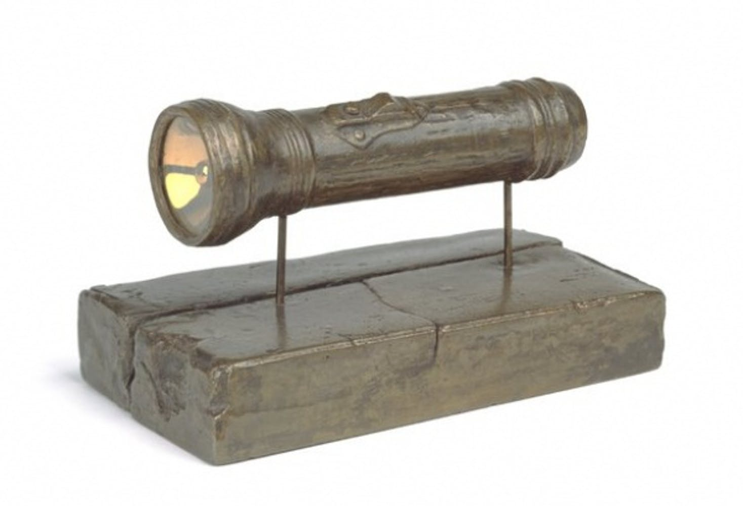 Jasper Johns, Flashlight, 1960
