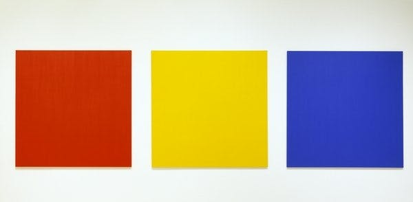 Ellsworth Kelly, Red, Yellow, Blue III, 1966