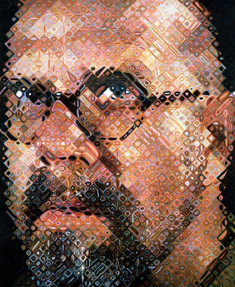 Chuck Close, Self-Portrait, 1997