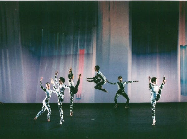 Merce Cunningham Dance Company Split Sides