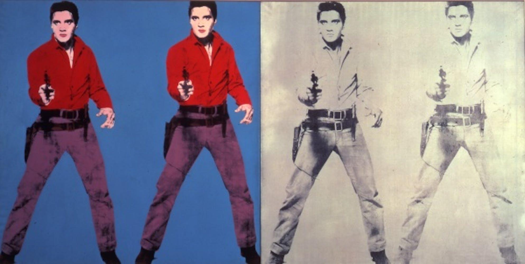 Andy Warhol, Elvis I & II, 1963