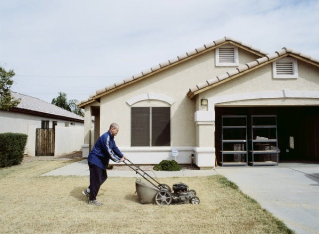 Greg Stimac, Mowing the Lawn (Chandler, AZ), 2005/2006