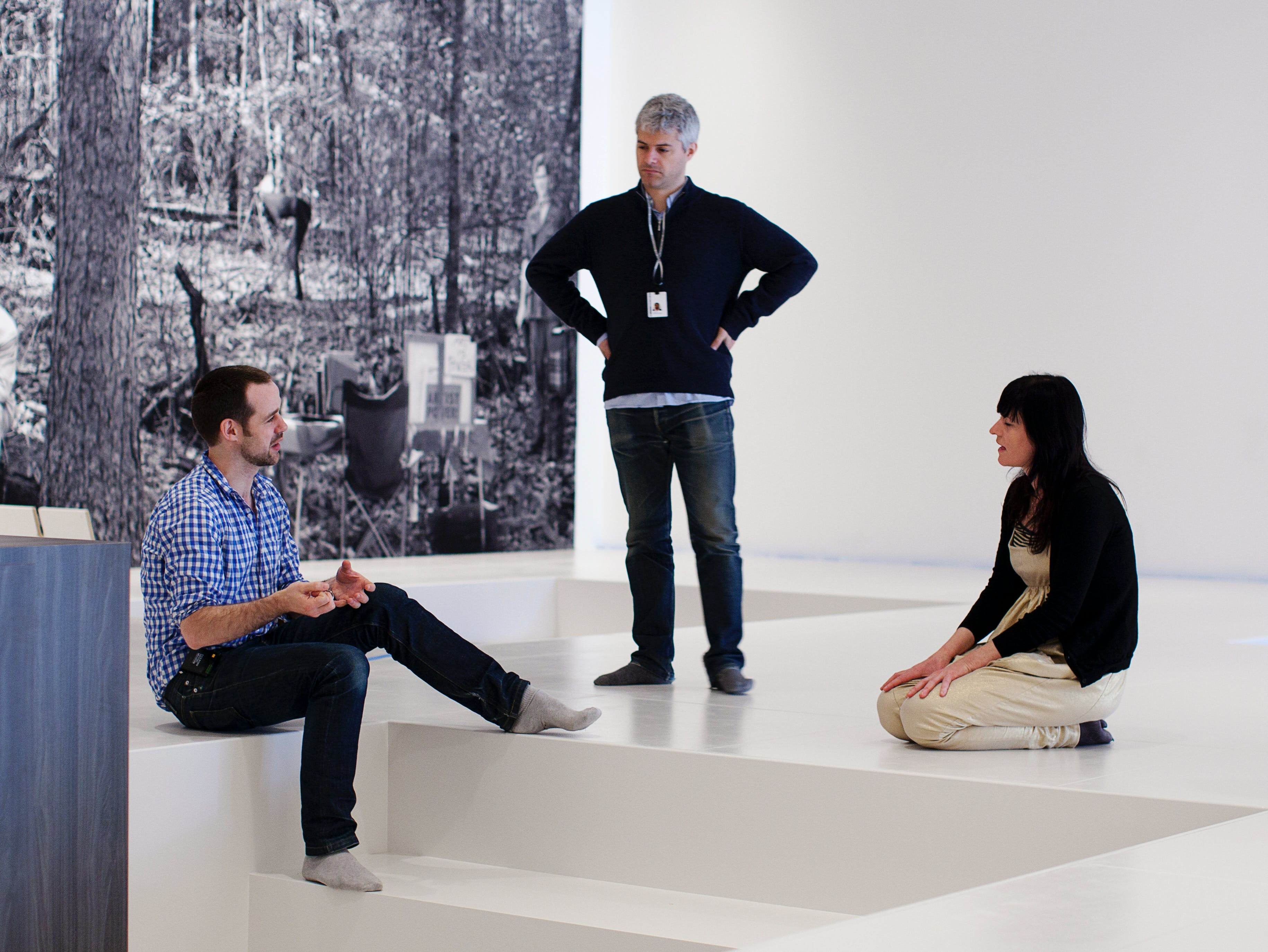 Goshka Macuga in Conversation with Peter Eleey and Bartholomew Ryan