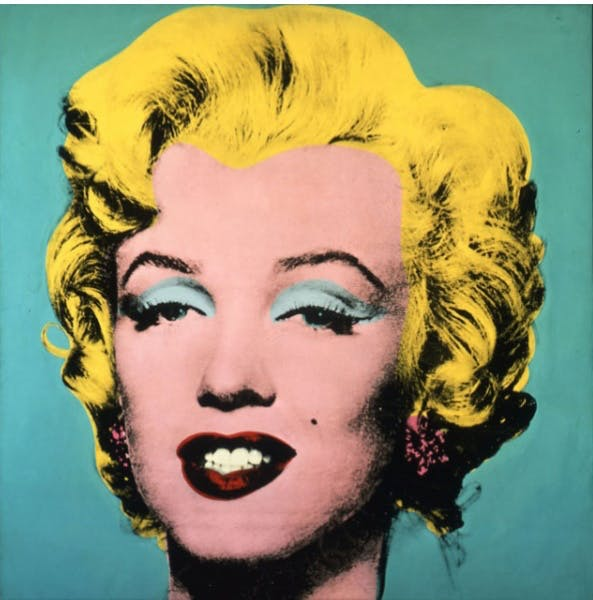 Andy Warhol, Turquoise Marilyn, 1964