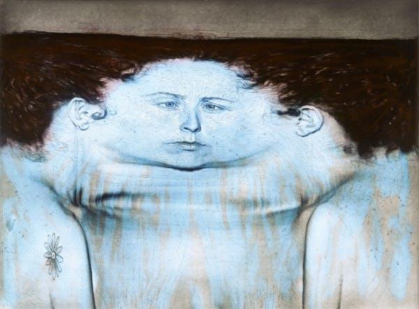 Kiki Smith, My Blue Lake, 1995