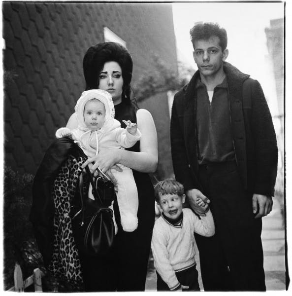 Diane Arbus, A young Brooklyn Family going for a Sunday outing, N.Y.C.1966