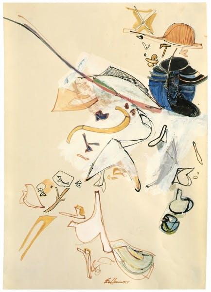 Eva Hesse, no title, 1964