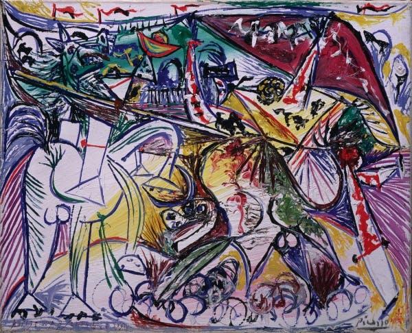 Pablo Picasso, Bullfight, 1934