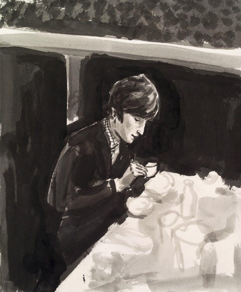 Elizabeth Peyton, John Lennon, 1996
