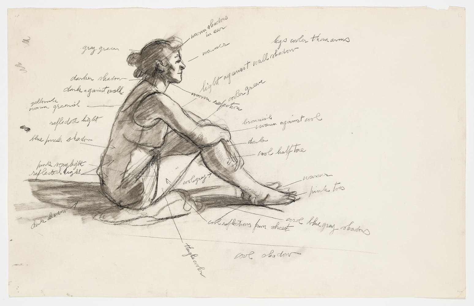Edward Hopper, Study for Morning Sun, 1952