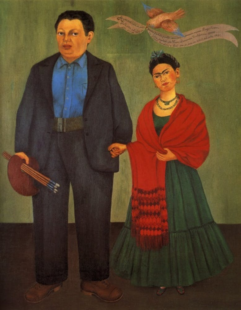 Frida Kahlo, Frieda and Diego Rivera, 1931