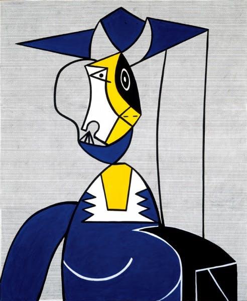 Roy Lichtenstein, Femme au Chapeau, 1962