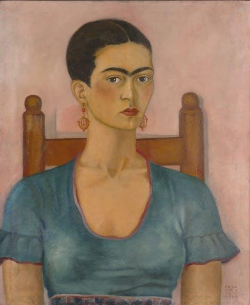 Frida Kahlo, Self Portrait, 1930