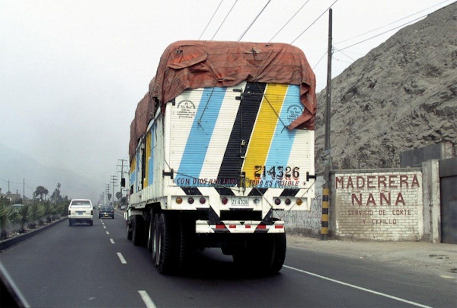 Armando Andrade Tudela, Camion, 2003