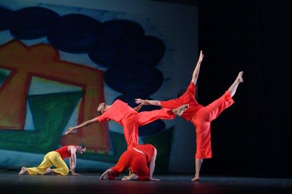 Trisha Brown Dance Company, Present Tense