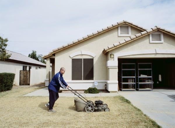 Greg Stimac, Mowing the Lawn (Chandler, AZ), 2005/2006