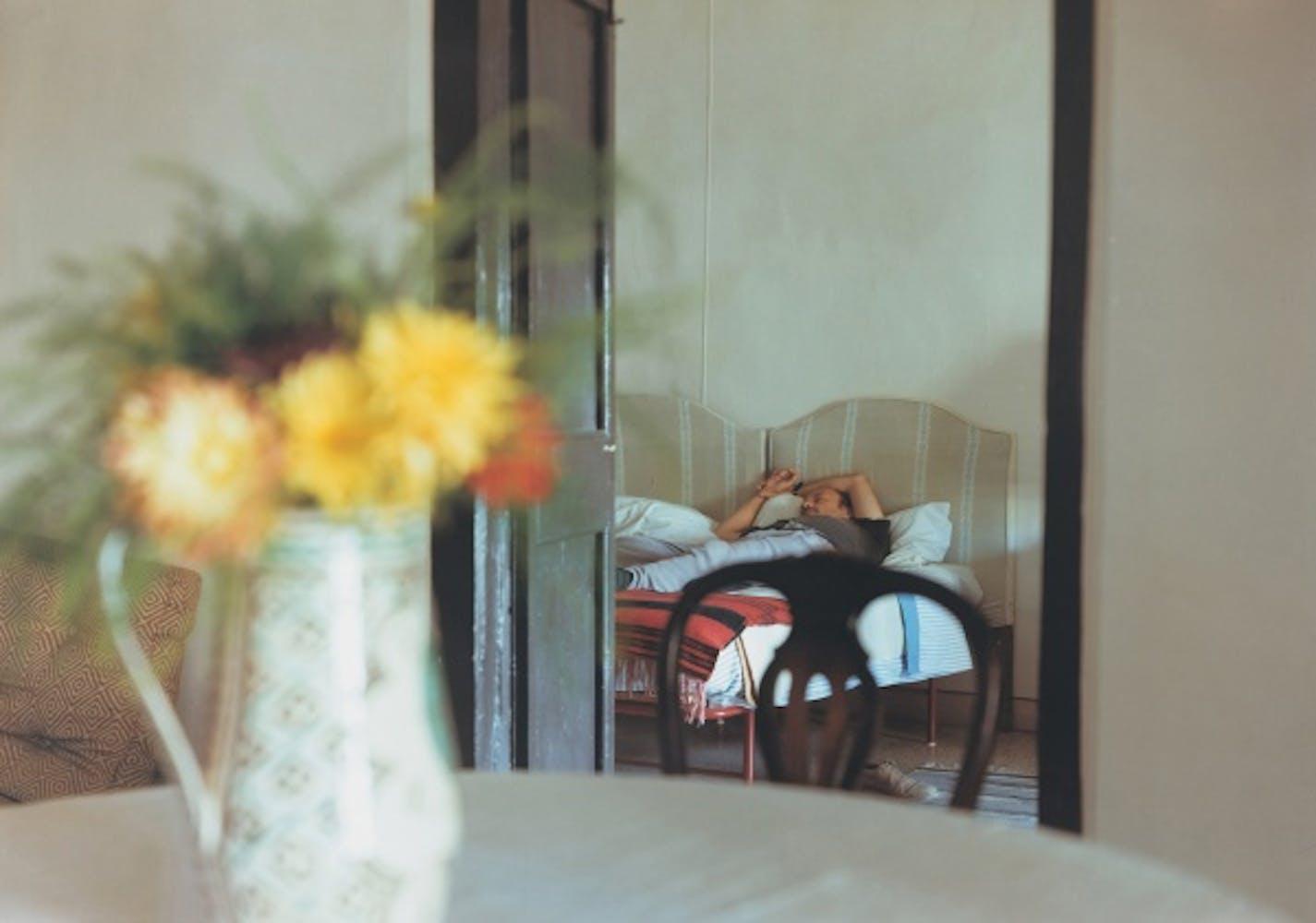 JoAnn Verburg, Untitled (Jim Sleeping, Spoleto), 1988