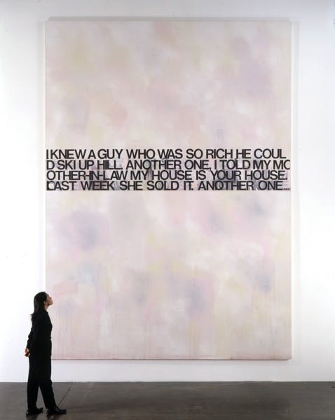 Richard Prince, Know a Guy, 2000