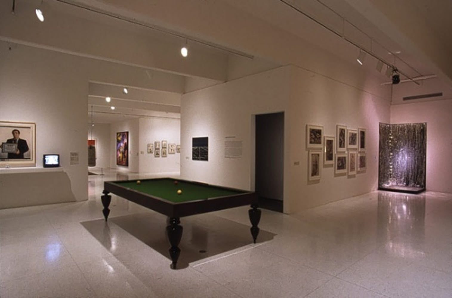 Installation view of American Tableaux: Selections from the Collection of Walker Art Center, 2001