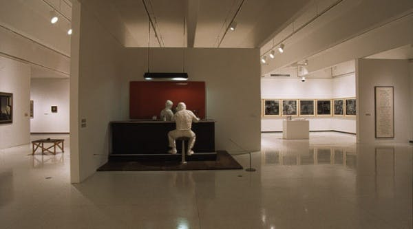 Installation view of the _ American Tableaux: Selections from the Collection of Walker Art Center_, 2001