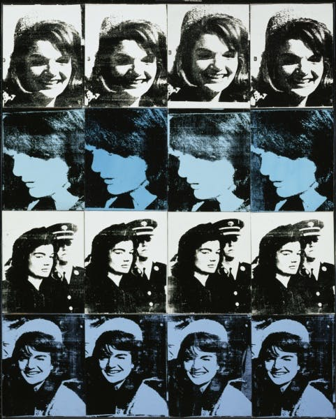 Andy Warhol, 16 Jackies, 1964