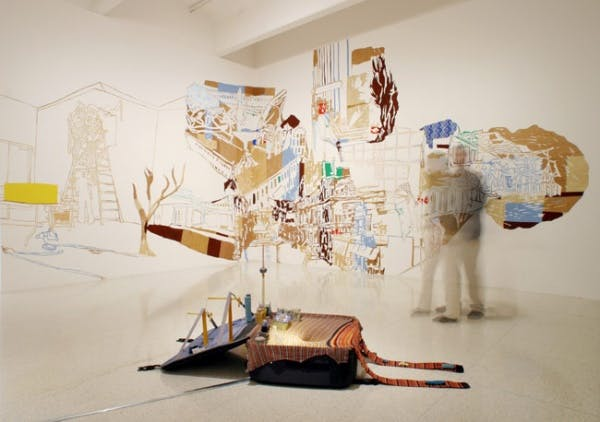 Installation view of How Latitudes Become Forms: Art in a Global Age, 2003