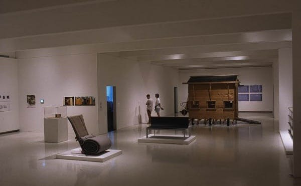 Installation view of Strangely Familiar: Design and Everyday Life, 2003