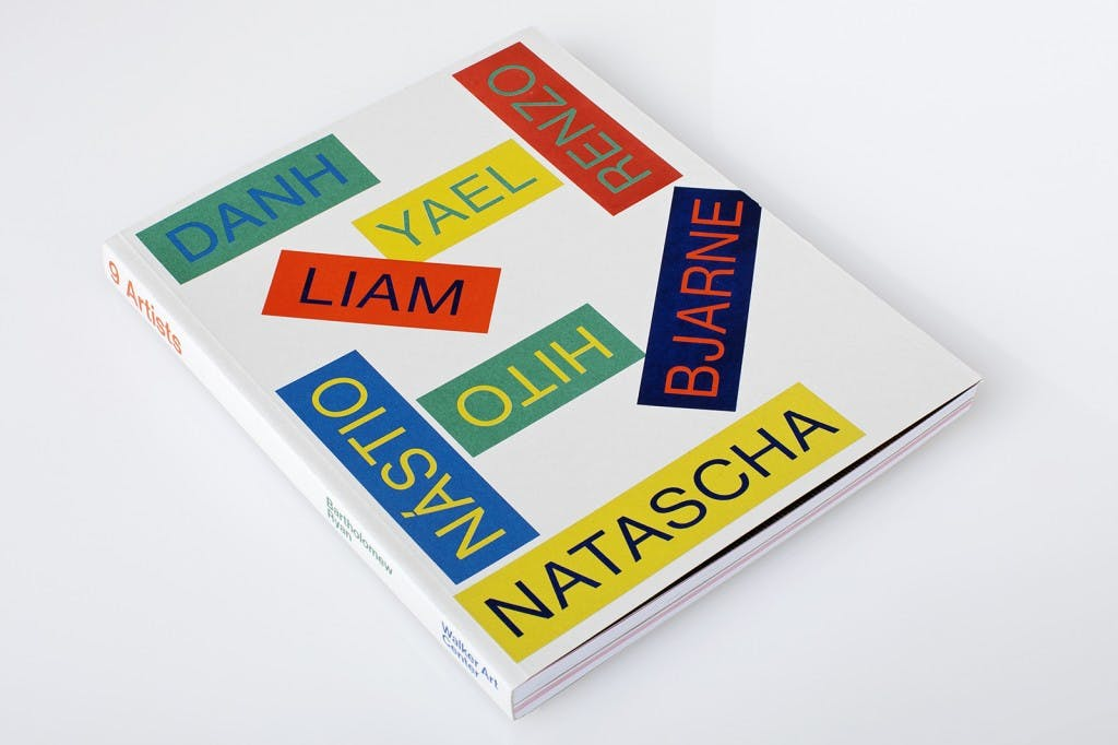 9 Artists book cover