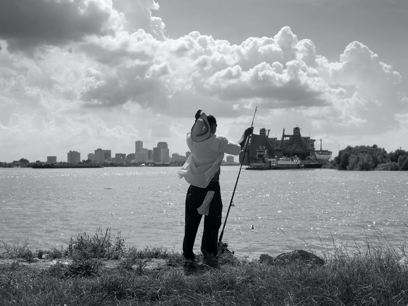 Alec Soth photo of fisherman