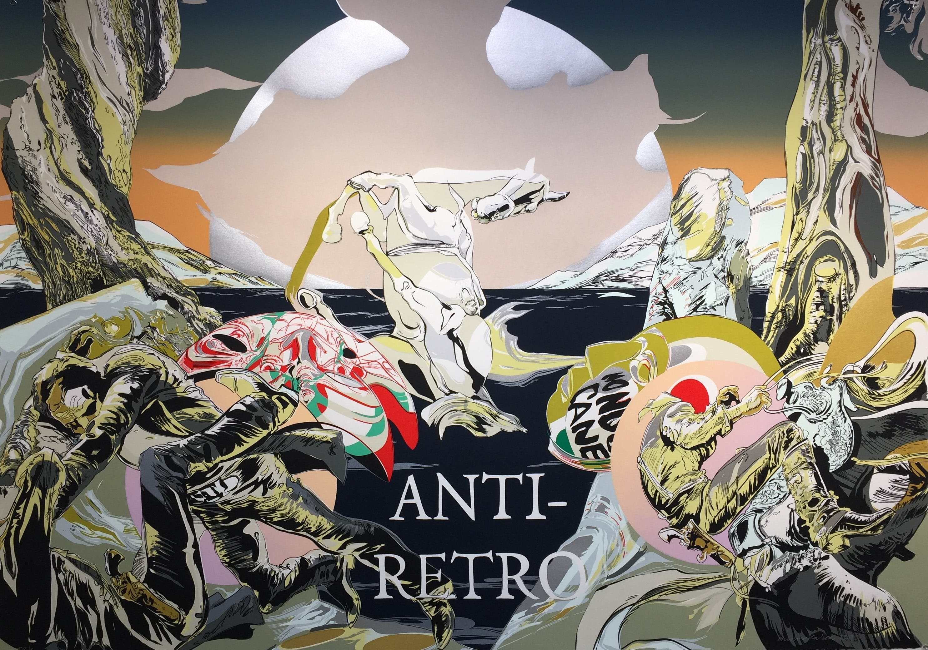 Andrea Carlson, Anti-Retro, 2018