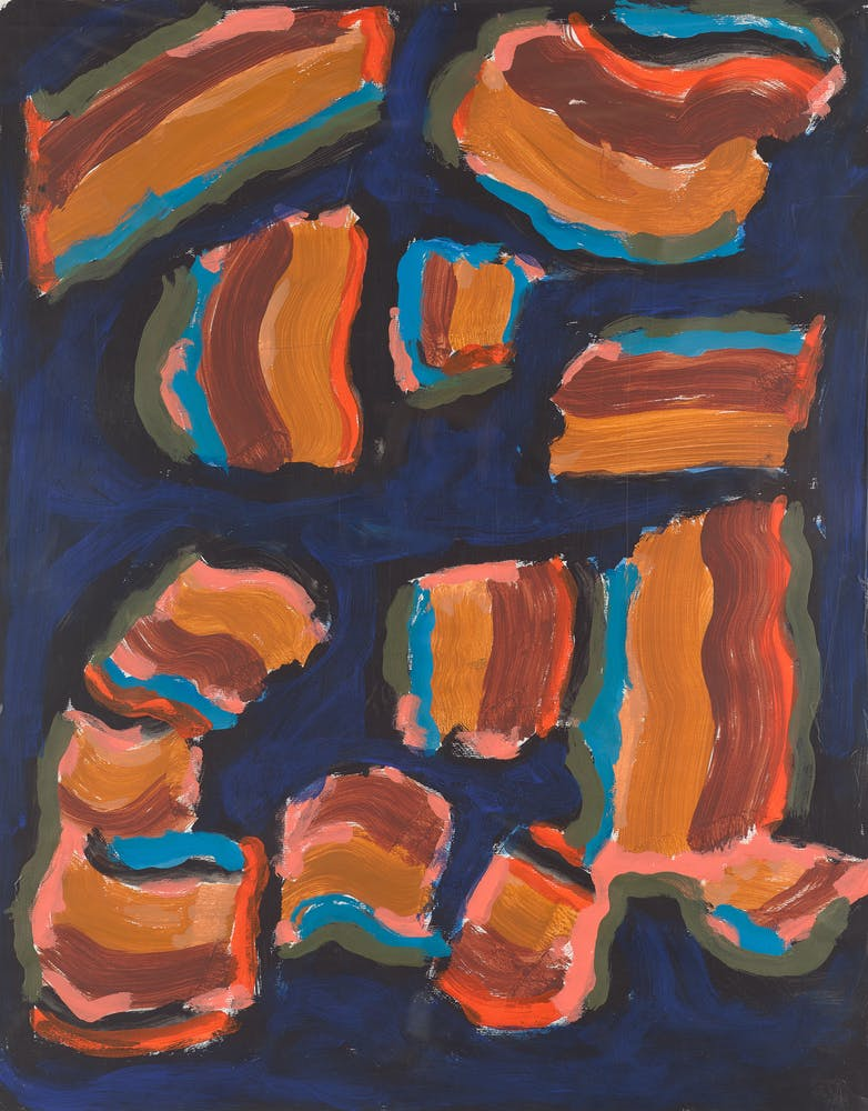 Betty Parsons, Wyoming Magic, 1974