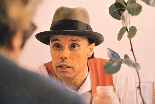 Portrait of Joseph Beuys