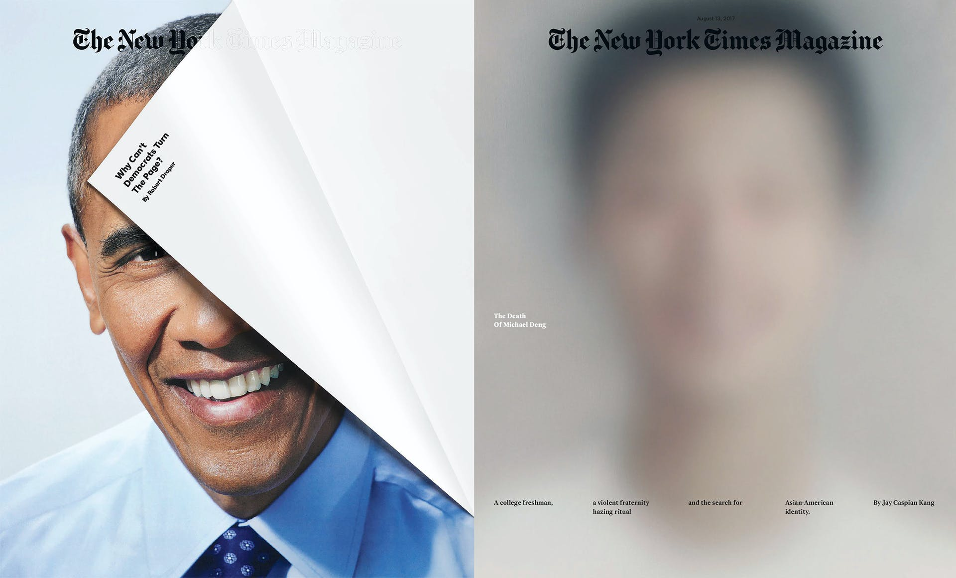 NY Times Magazine covers by Gail Bichler