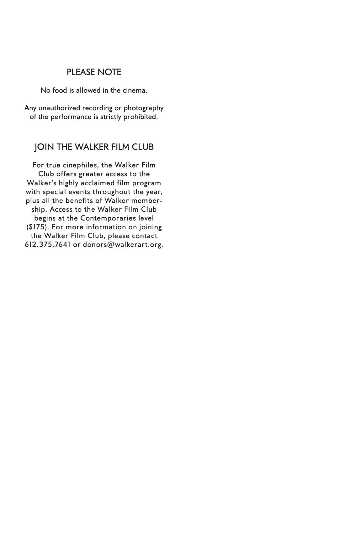 Bong Joon Ho Dialogue brochure page 2