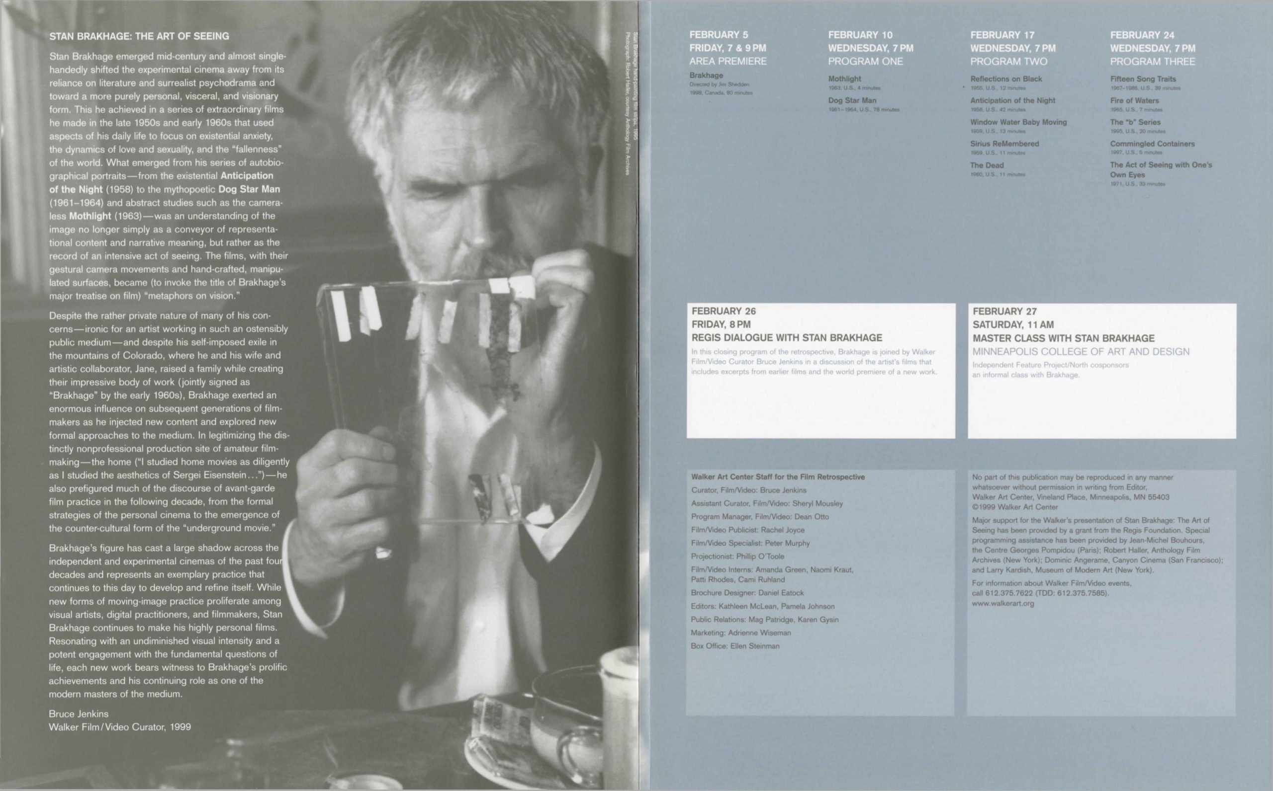 Walker Eastwood brochure