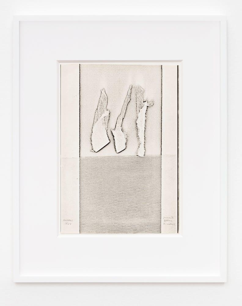 Bruno Munari Xerografia Originale (Original Xerography), 1964