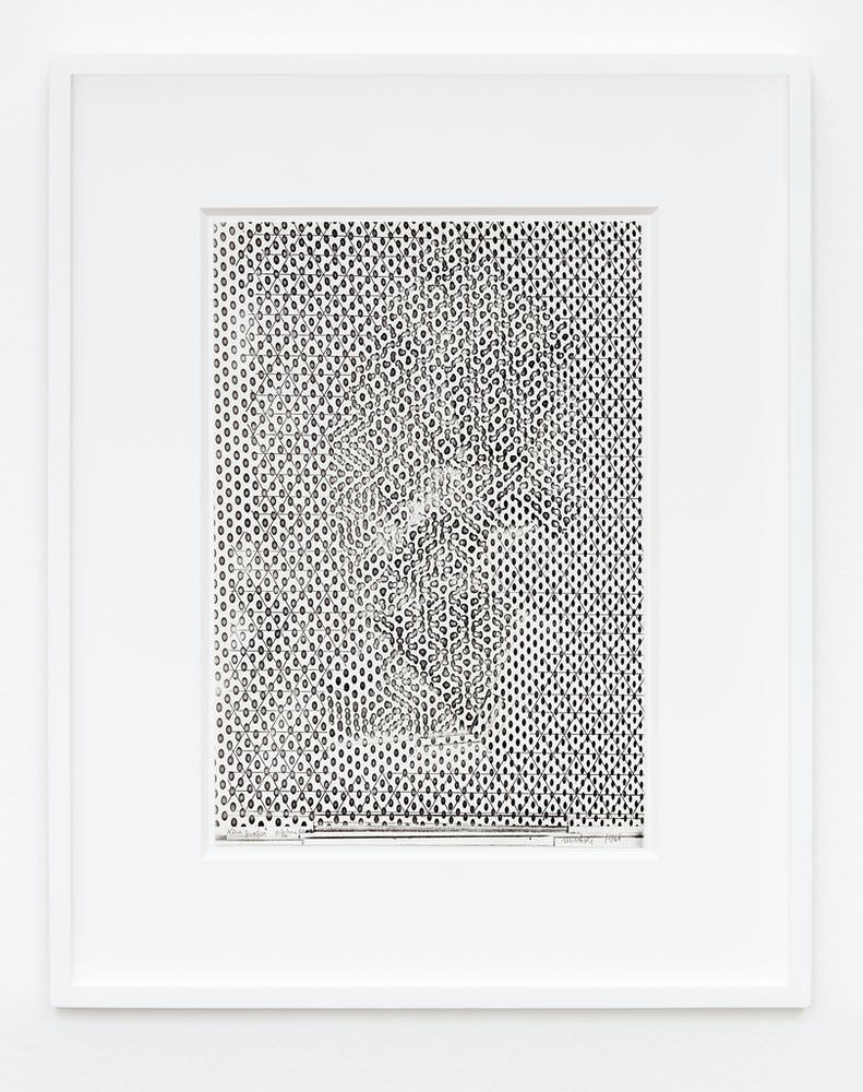 Bruno Munari Xerografia Originale (Original Xerography), 1968