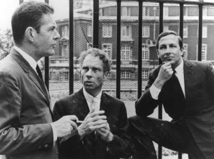 John Cage, Merce Cunningham, and Robert Rauschenberg