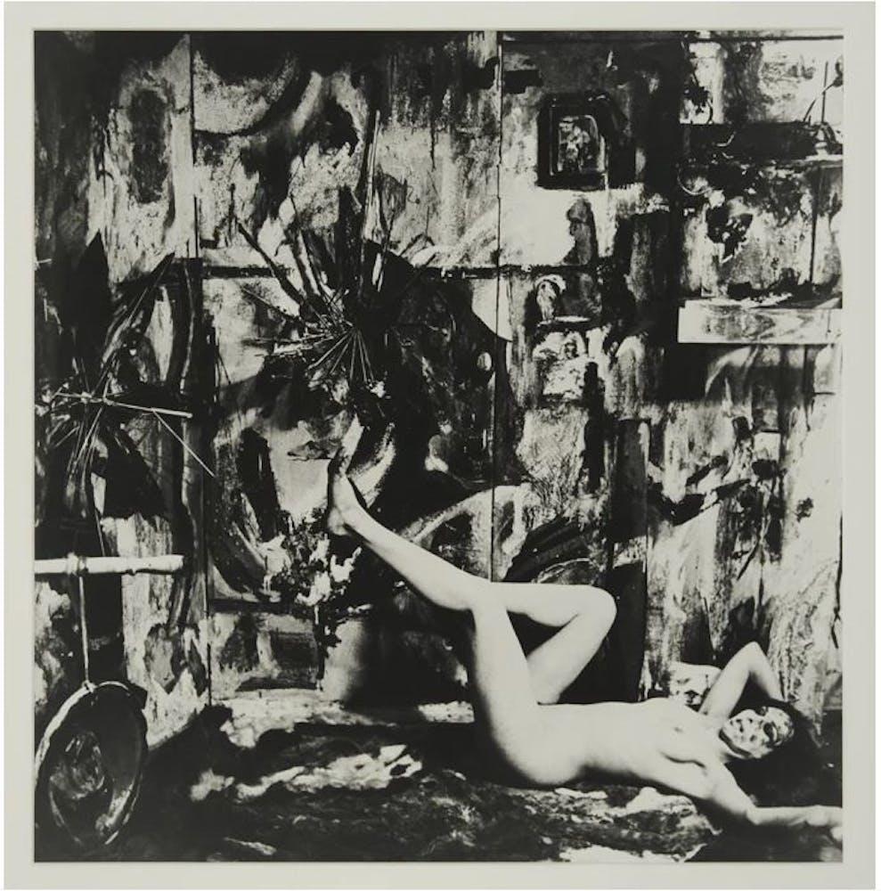 Carolee Schneemann Eye Body #1, 1963/2005