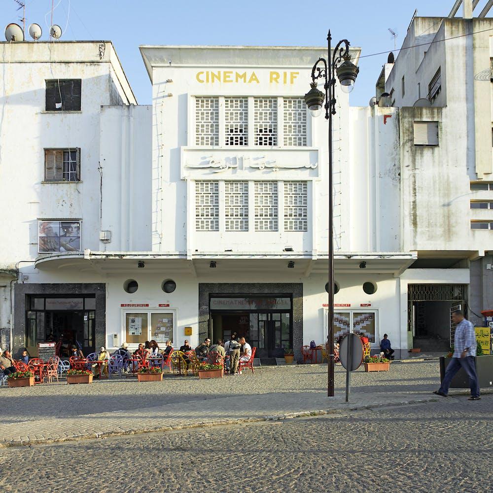 Exterior view of Cinémathèque de Tanger
