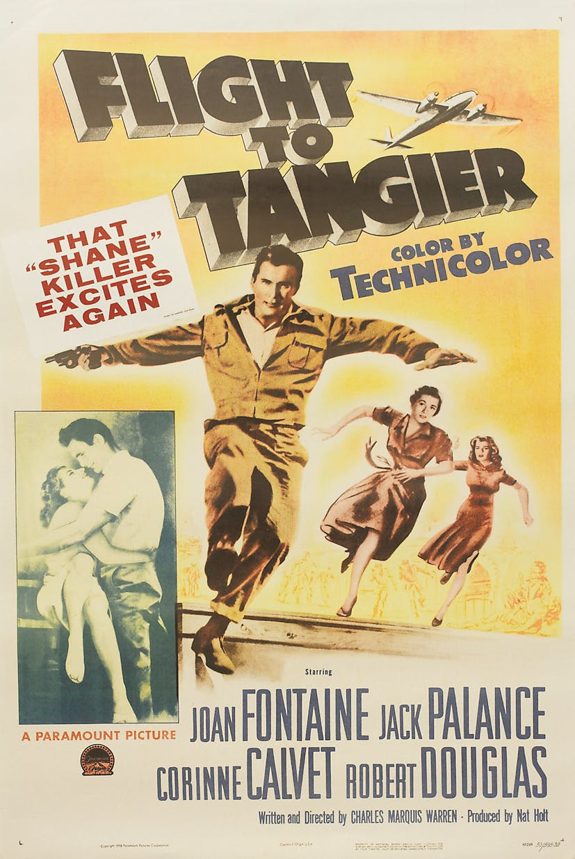Poster for Flight to Tangier
