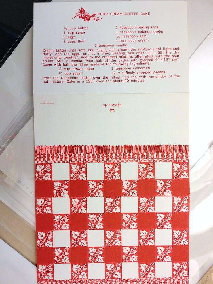 Yoko Ono sent a Hallmark card