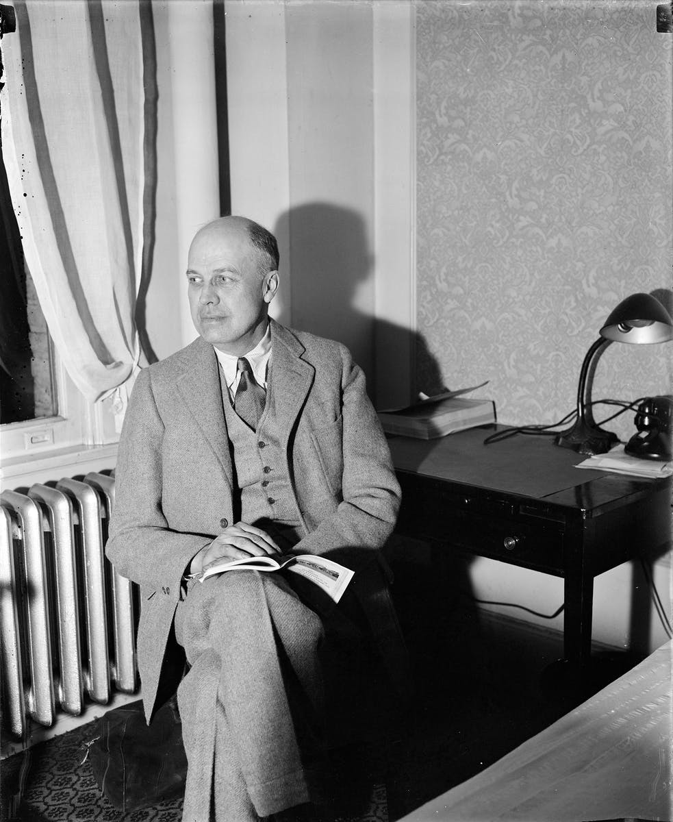 Edward Hopper portrait