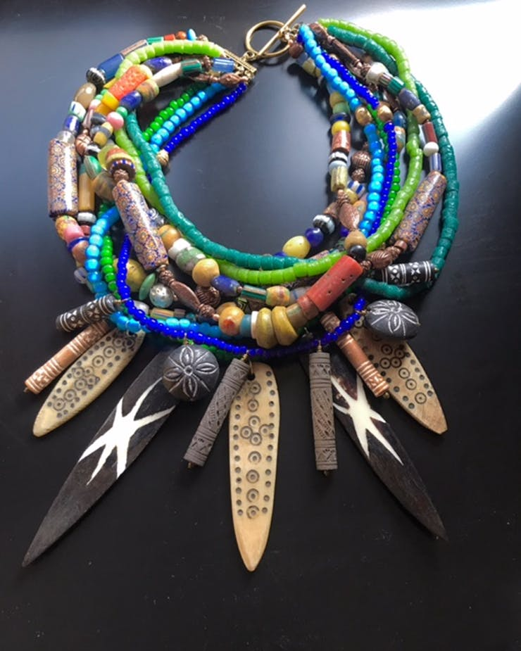 ROX jewelry. Photo courtesy the artist.