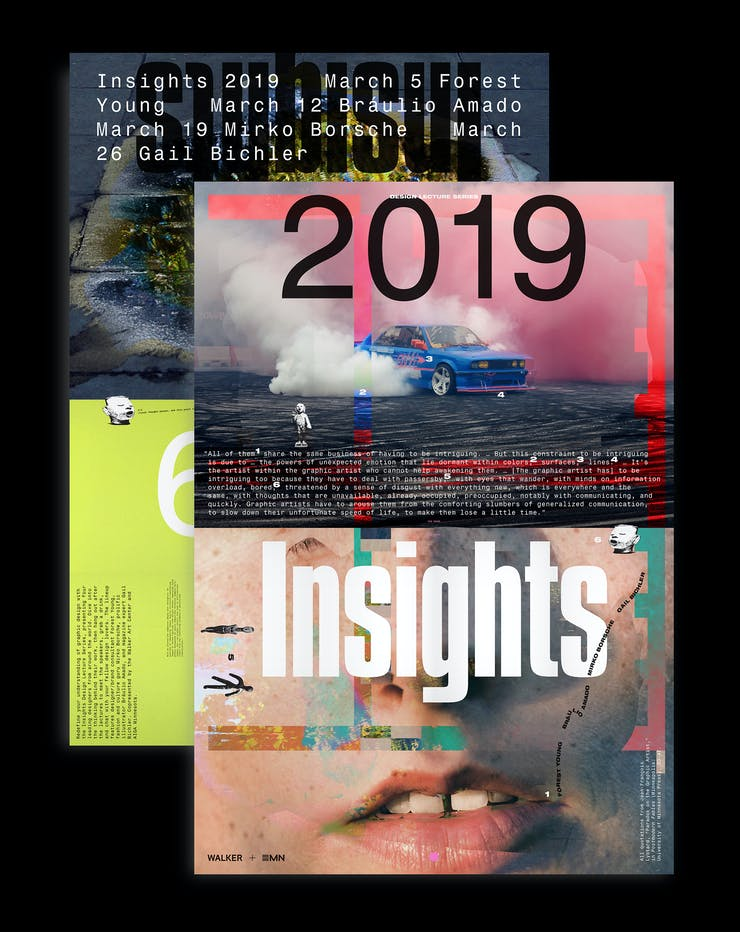 Insights 2019 poster front