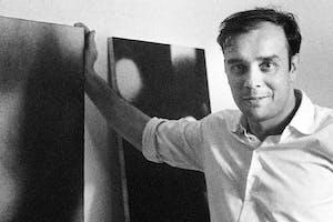 Portrait of Yves Klein