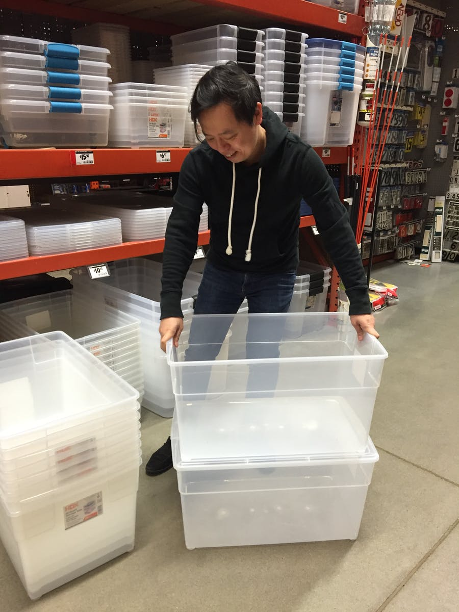 Lee Kit at Home Depot