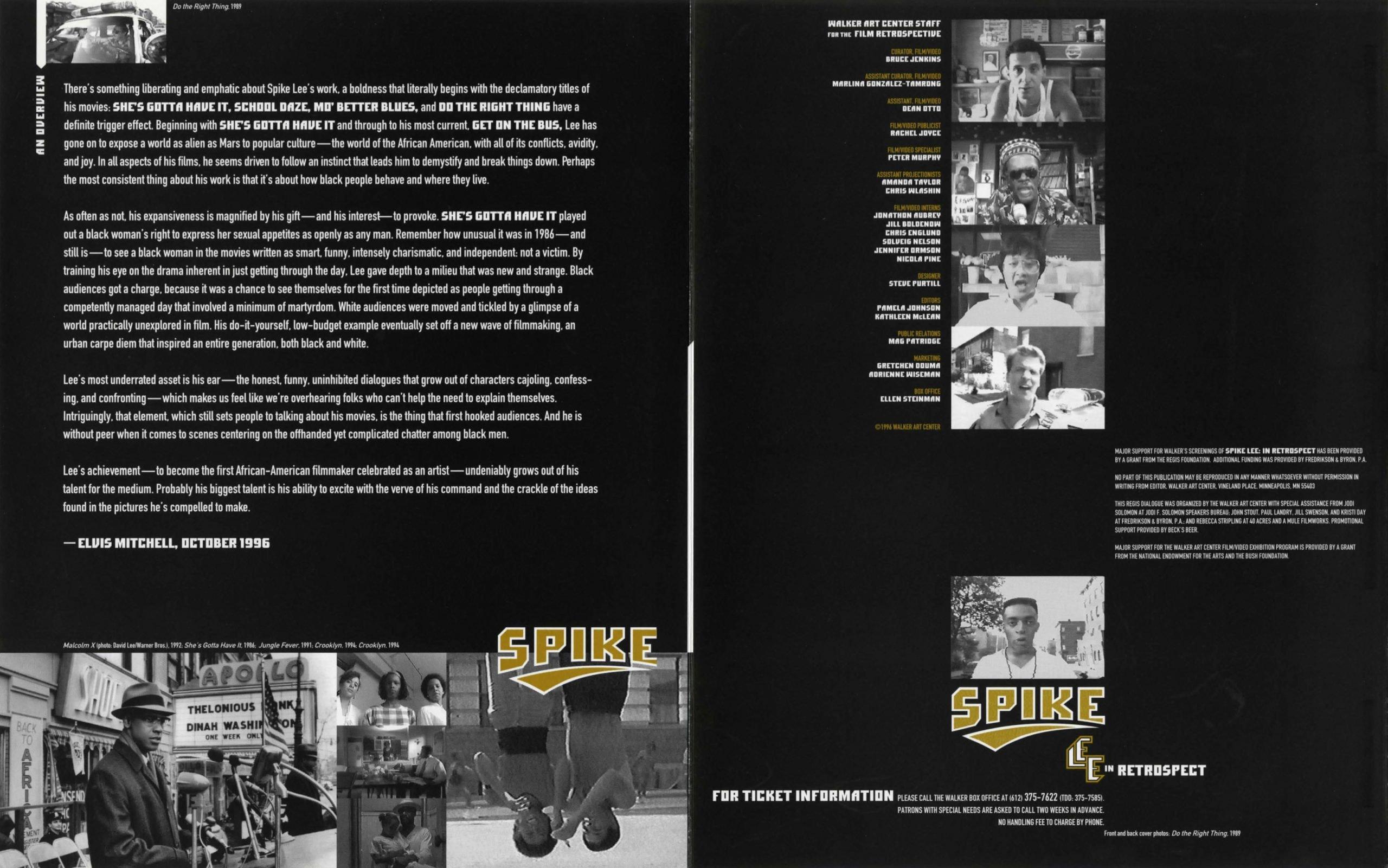 spike lee brochure 2