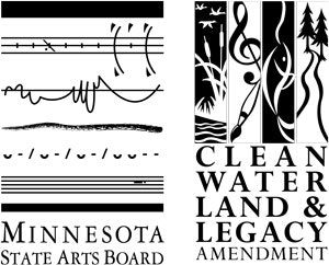 Logo: Minnesota State Arts Board and Clean Water Land & Legacy