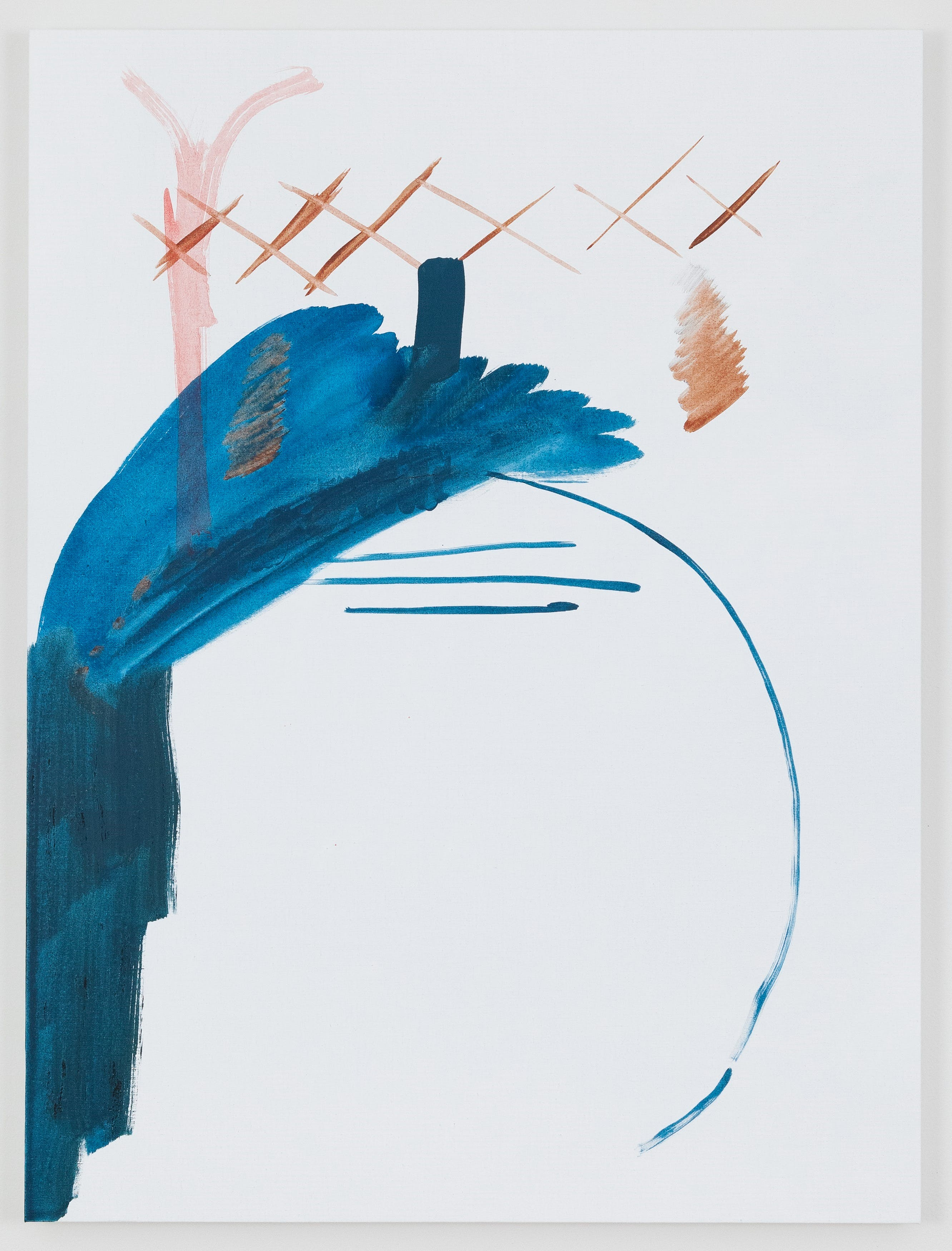 Michael Krebber, Untitled, 2018